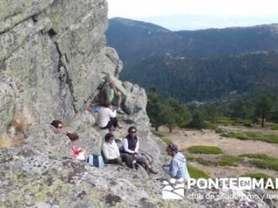 Senderismo Cueva Valiente - Pico Cueva Valiente; pasos largos senderismo